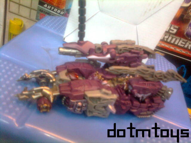 Transformers 3 Shockwave tank