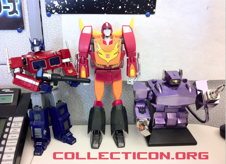 Rodimus Convoy MP09 and company
