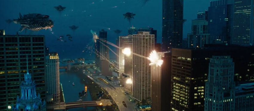 Chicago is BURNING!!! Transformers 3 teaser trailer hits the Super Bowl with a bang