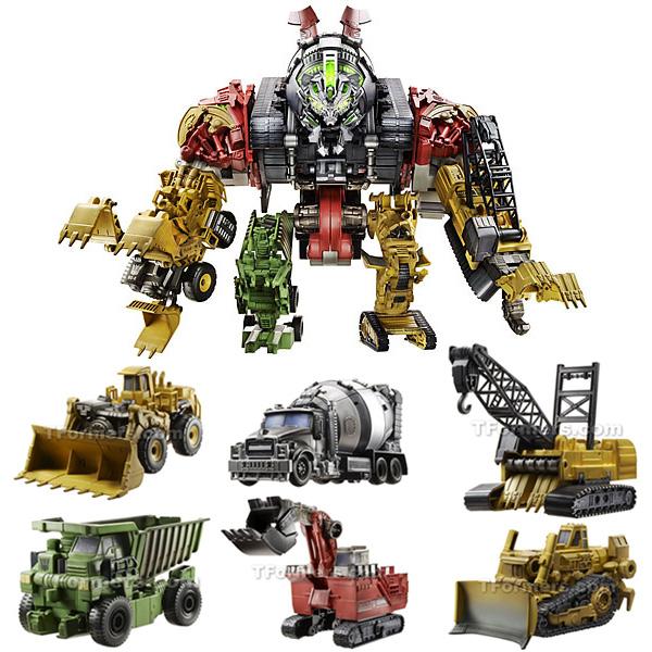 Transformers Revenge Of The Fallen Devastator Toys 26