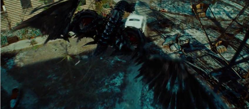 Transformers 3 Dark of the Moon Laserbeak buzzsaw bird