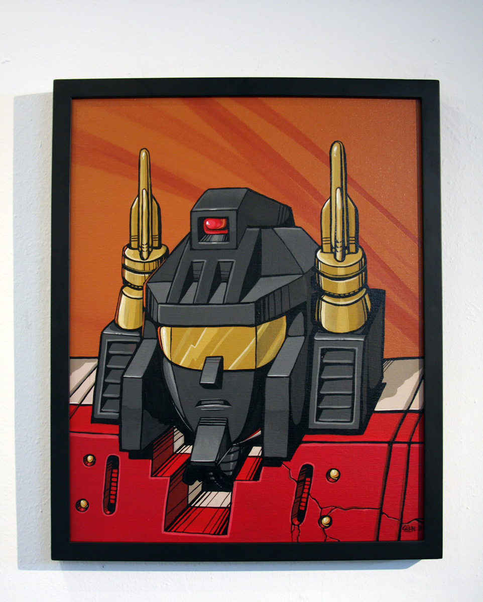 Devious Chris Gliebe's Superion Painting $500