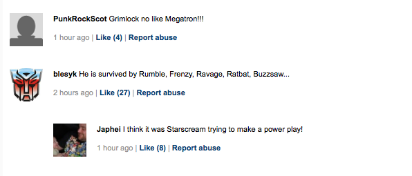 DJ Megatron shot comments