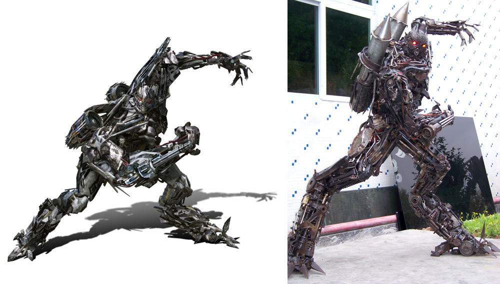 Scrapmetal ROTF Starscream
