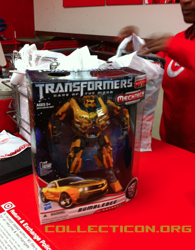 Collecticon Leader Bumblebee MISB in Target store