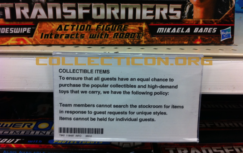 Collecticon defies the laws of Trans-physics – DOTM Street date break!