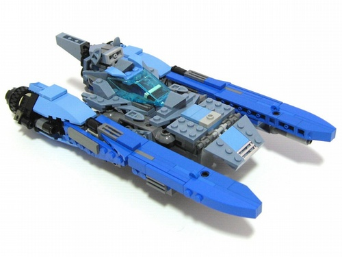 Transformers Lego Blurr