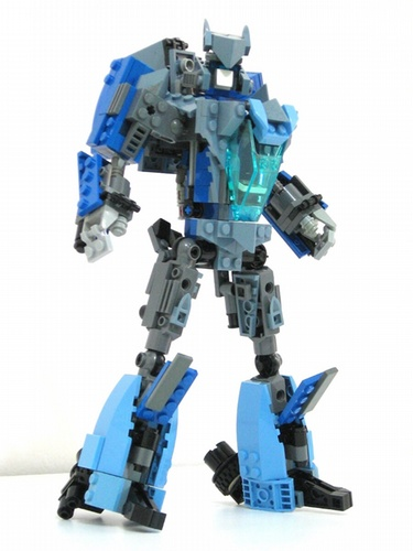 Transformers Lego Blurr robot mode