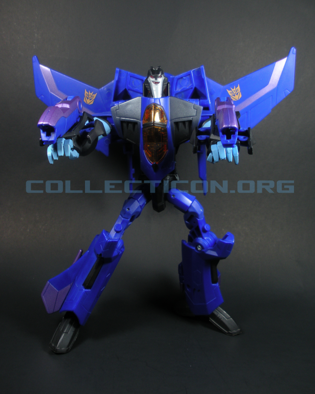 unreleased Animated Voyager Thundercracker toy