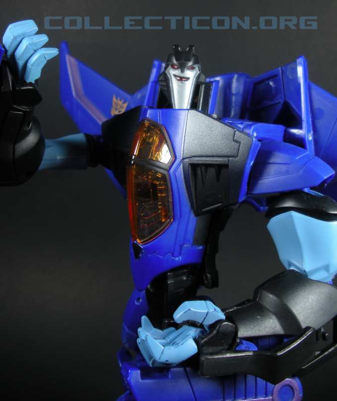 Animated Voyager THundercracker blue robot