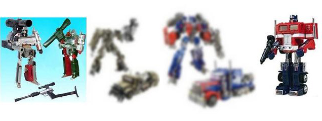 Big Bad Toy Store G1 DOTM chronicles product listing