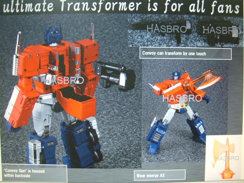Masterpiece 10 new convoy