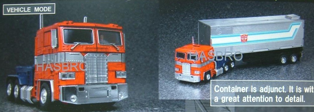 Transformers MP10 convoy semi