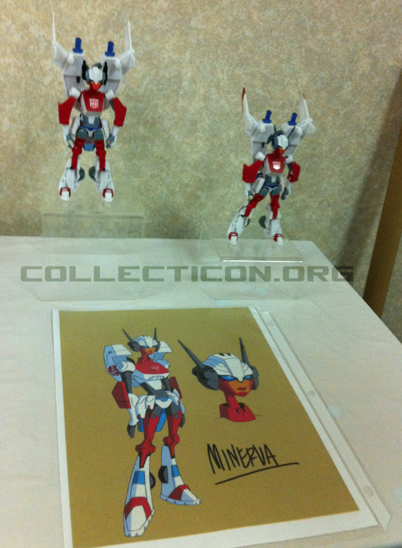 Botcon 2011 Animated Minverva samples