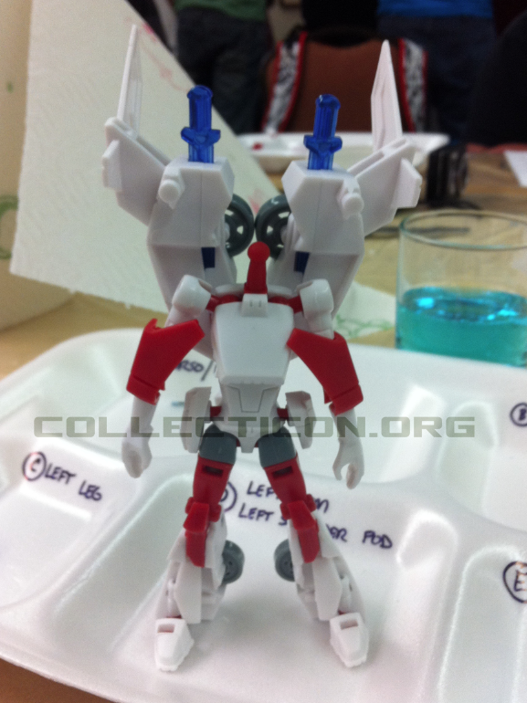 Botcon 2011 Animated Minerva no head paint