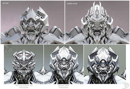 Transformers Movie Megatron head design