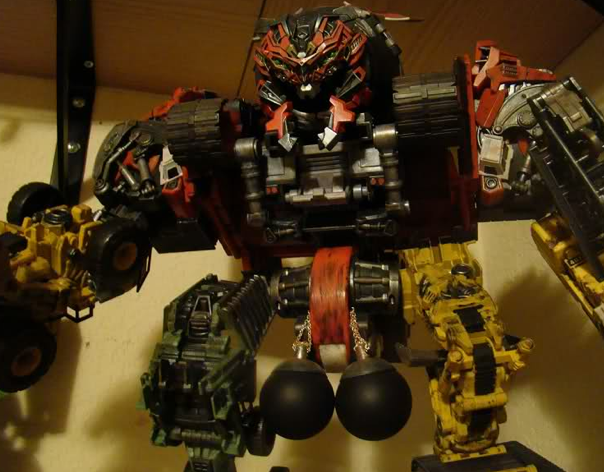 Supreme Devastator toy with balls