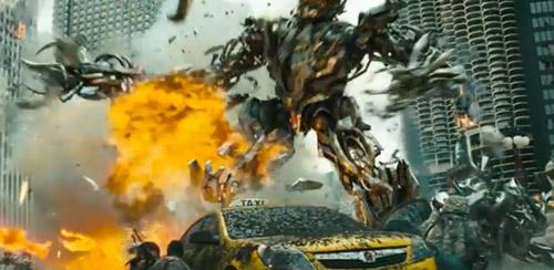 Transformers DOTM killing decepticon