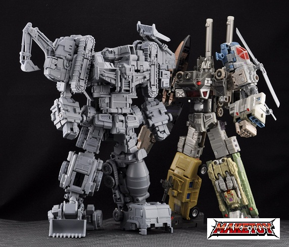 Maketoys is Fansproject – 3rd parties in disguise!