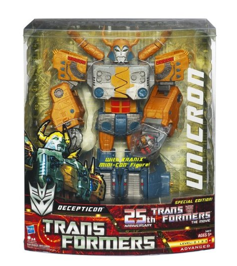 25th Anniversary Unicron toy