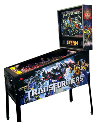 Transformers pinball machine from Stern
