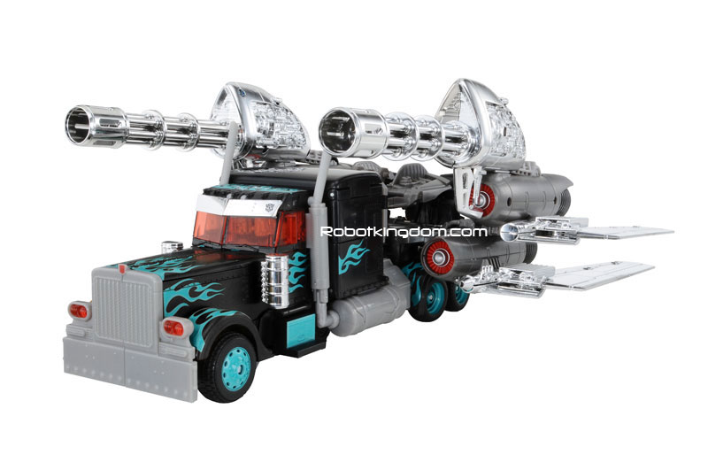 Black Jetwing Optimus Prime truck