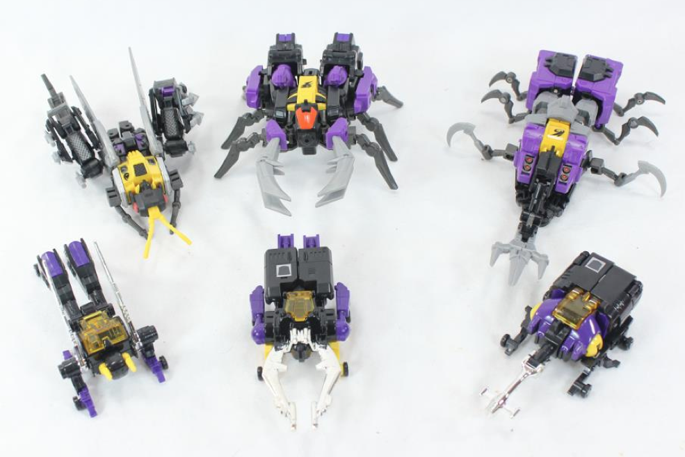 Fansproject bug bots insecticon insects