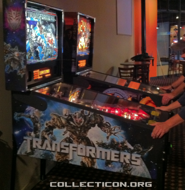 Transformers pinball