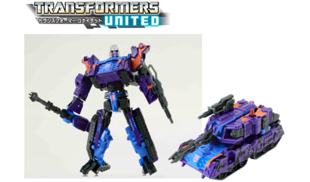 Transformers United Thunder Megatron G2 Purple tank