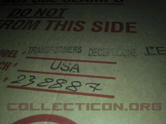 Box for Transformers pinball