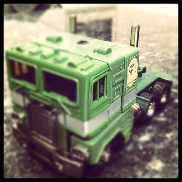Bathing Ape Green G1 Optimus Prime cab