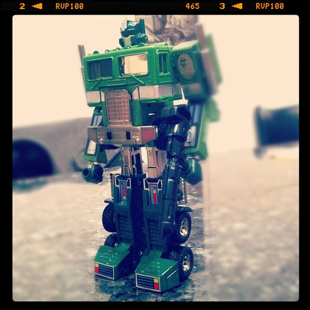 Bathing Ape Green Optimus Prime G1 Convoy