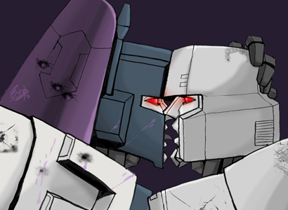Overlord makes out with Megatron