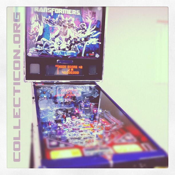 Transformers Pinball Decepticon Limited Edition 9 of 125