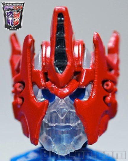 Botcon Shattered Glass Ultra Magnus crystal skull