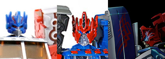 Shattered Glass Ultra Magnus head face clear