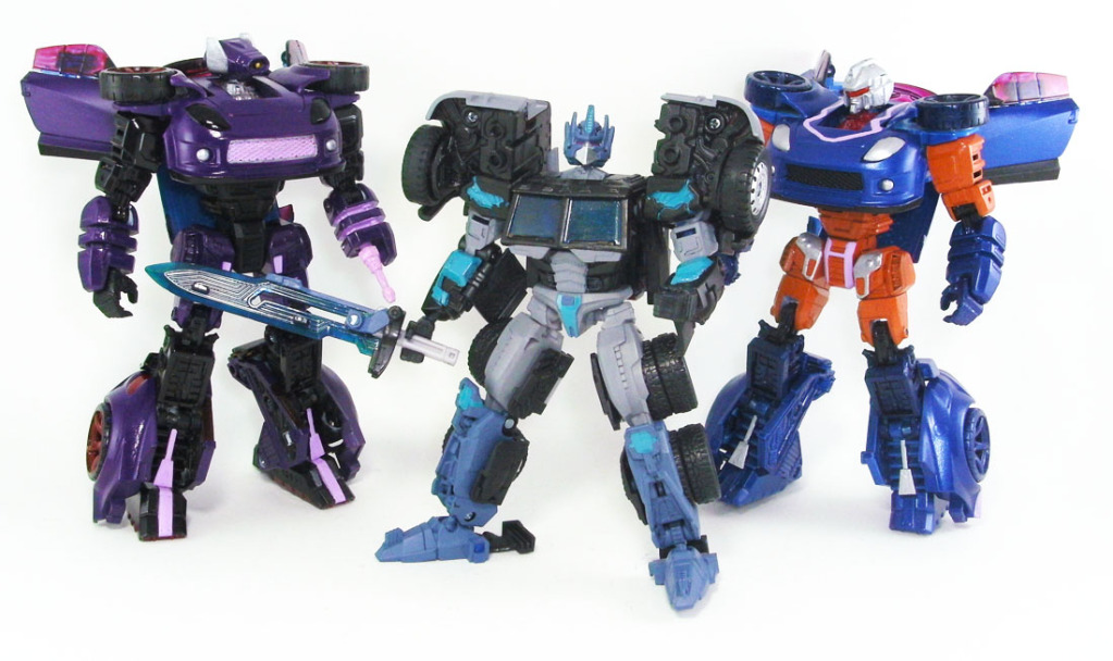 custom generations Shockwave with Nemesis Prime and Skram