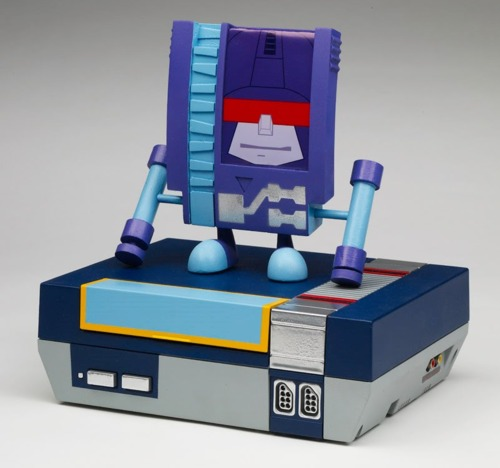 Transformers Soundwave and Rumble as Nintendo