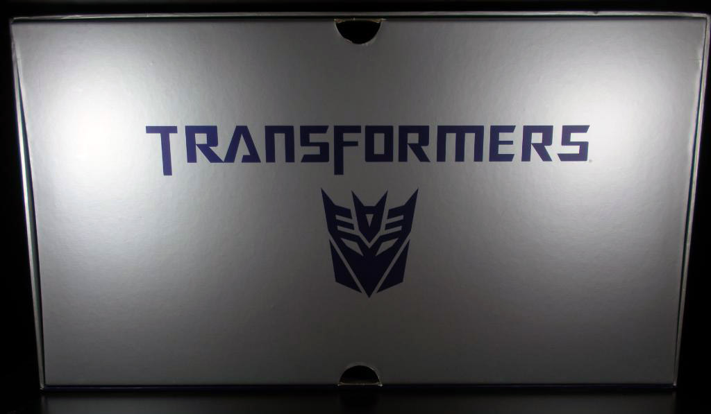 Transformers decepticon movie boxset interior
