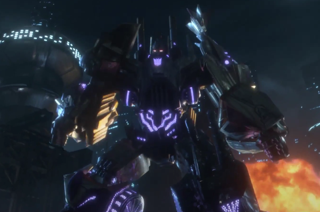 Fall of Cybertron Bruticus from the trailer