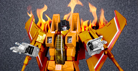 He's a Firestarter – TakaraTomy Masterpiece Sunstorm MP11-S announced