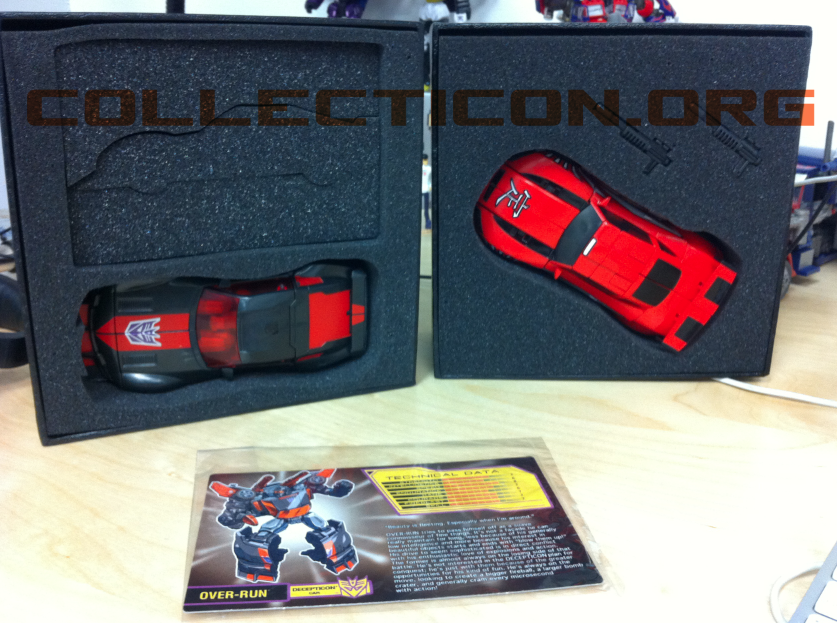 TFCC Botcon Over-run Runabout Shattered Glass Drift