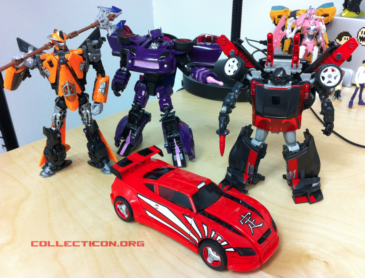 Shattered Glass Drift car TFCC over-run Runabout shockwave