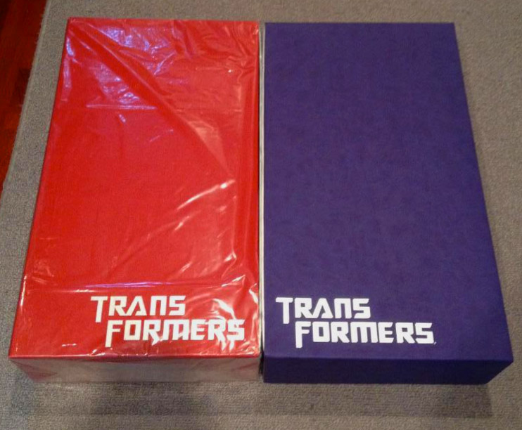 Transformers Movie boxset packaging