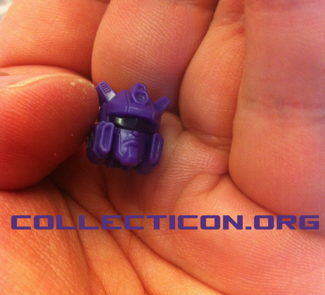 Botcon 2012 Custom class Shattered Glass Longarm head jazz