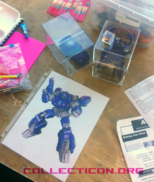 Botcon 2012 Custom Class artwork and official prototype