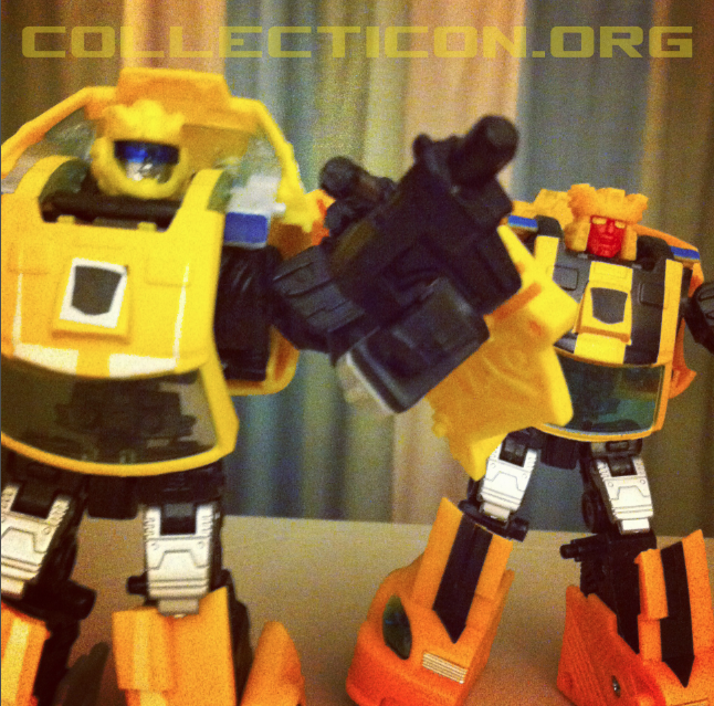 Renderform Bumblebee prototypes