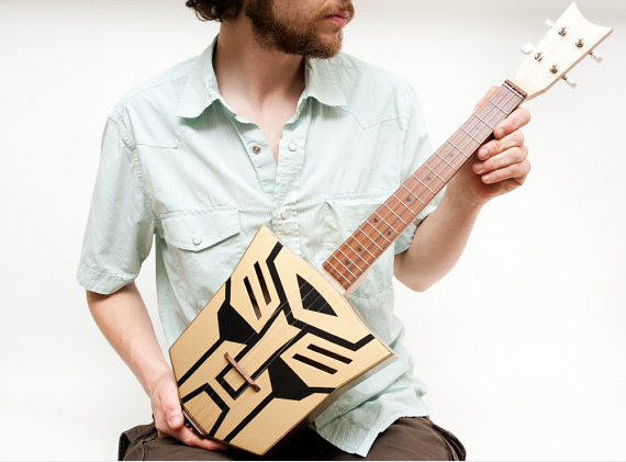 Get your own Autobot Ukulele – Transform your inner hipster