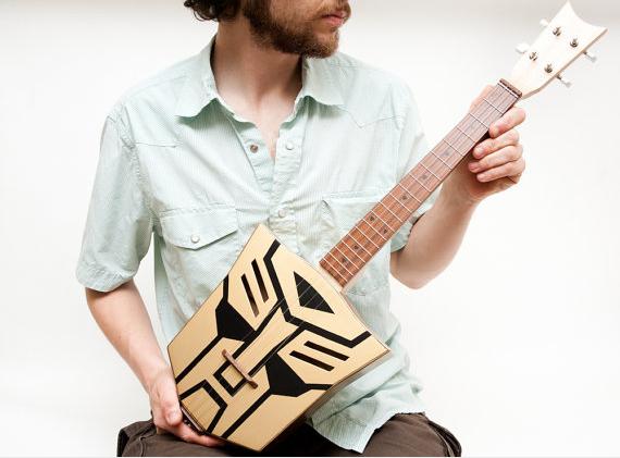 Autobot ukulele hipster douche