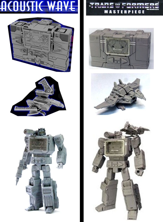 Masterpiece Soundwave MP13